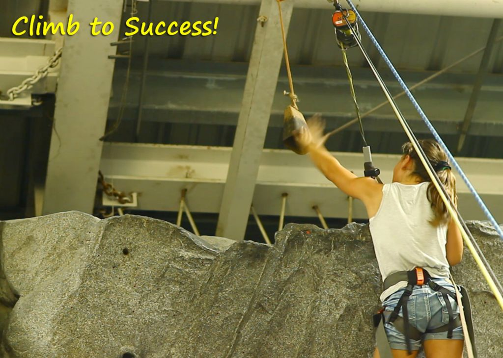 climb to success!
